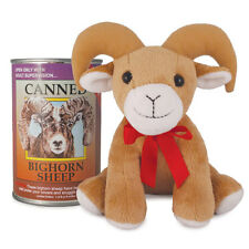 "Canned Critters 6"" Stuffed Animal: Bighorn Sheep"