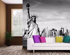 New York Liberty WALLMURAL WALLPAPER GIANT PAPER ART POSTER WALLDECAL PHOTOMURAL