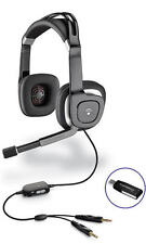 Plantronics .Audio 750 Headband Computer USB noise-canceling microphone Headset