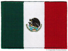 MEXICO FLAG embroidered iron-on PATCH MEXICAN EMBLEM applique NATIONAL LOGO