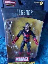 "Hasbro Marvel Legends Series 6"" Collectible Black Tom Cassidy Action Figure"