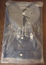 Men's David Taylor Sz 20 34-35 Black L/S Button-Front Dress Shirt New NIP