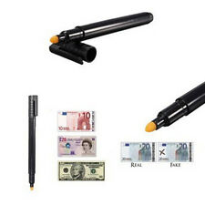 NEW Money Checker Counterfeit Detector Marker Fake Banknotes Tester Pen Black CN
