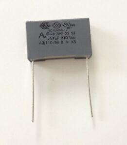 Condensateur MKP X2 0.47uF 0.47µF 470nF 474K 275V 310V 22,5mm
