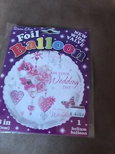 """18"""" On Your Wedding Day Foil Decoration Balloon"""