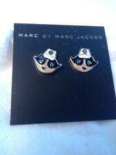 Marc by Marc Jacobs Earrings Marc Jacobs black white face Enamel Earrings Nurse
