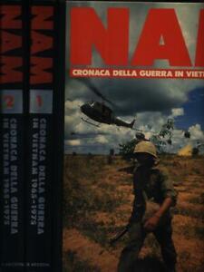 NAM. CRONACA DELLA GUERRA IN VIETNAM 1965-1975. 2 VOLUMI  AA.VV. DE AGOSTINI