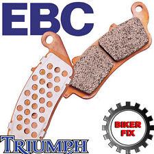 Triumph Speed Triple 08-12 Ebc Delantera Freno De Disco almohadillas Fa322/4hh * mejorado