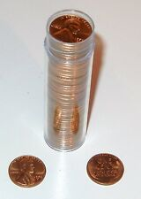 50 BRILLIANT UNCIRCULATED 1958 LINCOLN PENNIES LAST YEAR OF THE WHEAT BACK!!