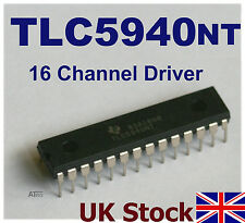 Texas Instruments TLC5940NT LED Driver DIP Tlc5940 EEPROM PWM TLC 5940 TI USA