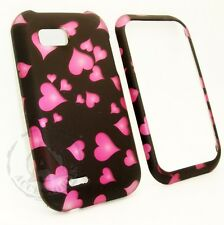 For T-Mobile LG myTouch Q HARD Protector Case Snap On Phone Cover Raining Hearts