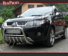 MITSUBISHI OUTLANDER 06-09 BULL BAR, NUDGE BAR, A BAR +GRATIS!!! STAINLESS STEEL