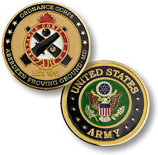 U.S. Army / Ordnance Corps Aberdeen Proving Ground - Challenge Coin