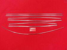 VW Käfer 1302/03 auch Cabrio Zierleisten Zierleistensatz Chrom poliert (0403-4)
