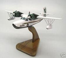 G-21 Grumman Alaska Air Goose Airplane Desktop Wood Model Large Free Shipping