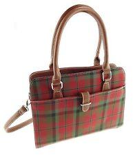 Ladies MacNaughton Tartan Handbag With Shoulder Strap TB7009