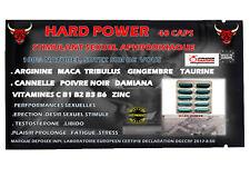 Aphrodisiaque Homme hard power 40 pills Stimulant sexuel Livraison discrete 48h