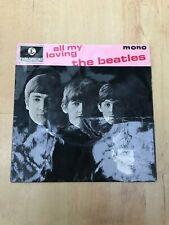 "The Beatles - All My Loving - GEP 8891 7"" Vinyl Single VG+/VG"
