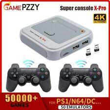50000+ Games Super Console X Pro WIFI Video Game Console AV/HDMI 4K HD Output