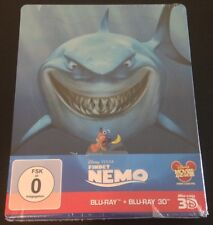 FINDING NEMO 3D Blu-Ray SteelBook German Exclusive Region Free. New OOP & Rare!