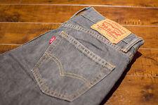 Men's Levi's 511 Medium Grey Jeans Pants 28x30