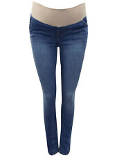 Women Gap OLD NAVY Maternity Under Bump Bootcut Jeans Blue Sizes UK 8