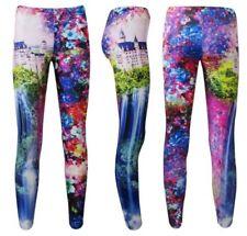 Pantalones de mujer color principal multicolor de poliamida