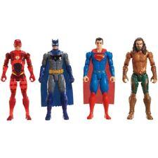 Justice League 12 In/30cm 4 Figure Pack- Batman, Superman, Aquaman & The Flash