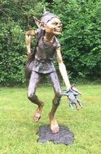 Bronze Goblin Pixie Frosch Verteiler sehr großer Bronze