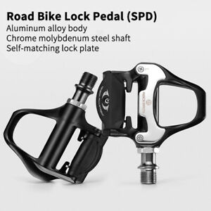 Road Bike Self-lock Pedals with Shimano SPD-SL or Look KEO Cleat 2 Sealed Pedals
