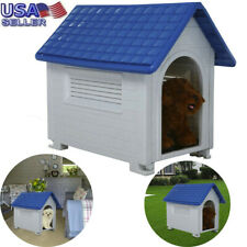 """32"""" Dog Kennel For Dogs Puppy Outdoor Pet Cabin Insulated House Shelter"""