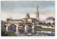 CPSM 86310 SAINT SAVIN SUR GARTEMPE Eglise & Pont Neuf Edit ROUSSEL