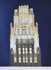 RICHARD HAAS American Radiator Building HAND COLORED + SIGNED ETCHING US Artist