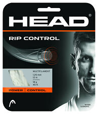 (1,16 €/M) Head RIP Control Black 17 12 M Tennis Strings