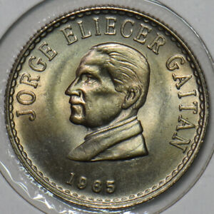 Colombia 1965 20 Centavos Eagle animal 196086 combine shipping