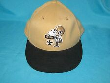 NFL NEW ORLEANS SAINTS FITTED CAP HAT TEAM APPAREL REEBOK 210 SIZE 6-7/8 - 7-1/4