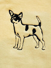 Chihuahua, Hand Towel, Embroidered, Custom, Personalized, Dog, Smooth