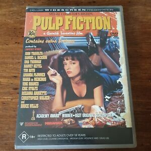 Pulp Fiction Special Collector's Edition DVD R4 VERY GOOD - FREE POST