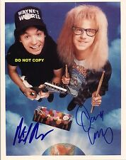 MIKE MYERS DANA CARVEY 8X10 AUTHENTIC IN PERSON SIGNED AUTOGRAPH REPRINT PHOTO