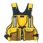 New Fly Fishing Vest Detachable Pad Safe Life Jackets Waistcoat Boating China