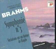 Brahms - Symphonie N° 3 Variations Sun Un Theme De Haydn Digipack Cd Sigillato