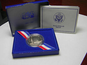 1989 Statue of Liberty 100th Birthday Half Dollar Proof Coin