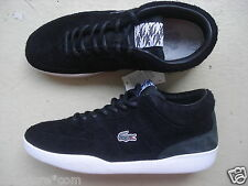 Lacoste L!ve X Footpatrol Halfcourt 43 Suede/Leather Black/White