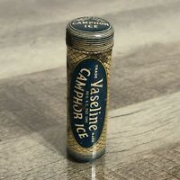 Vintage Vaseline Camphor Ice Tin CHESEBROUGH Manufacturing CO.