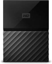 WD 2TB Black My Passport  Portable External Hard Drive - USB 3.0 - WDBYFT0020BBK