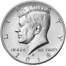 2018-D  Kennedy Half-Dollar