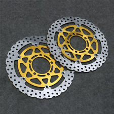 Floating Front Brake Disc Rotor Fit For Kawasaki Ninja ZX6R EX650R ZX10R Z1000