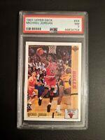 1991 Upper Deck Michael Jordan #44 PSA 7 - Chicago Bulls Nice Card! 🏀