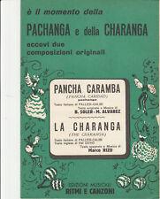 Spartito PANCHA CARAMBA / LA CHARANGA Soler - Alvarez - edizioni RITMI E CANZONI