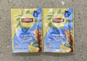 Lipton Lemon Iced Tea with Sugar Mix (95.7 oz. makes 38 quarts) 2 Packs
